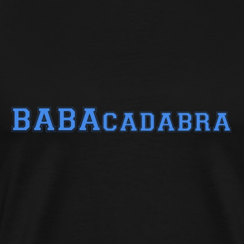 Tshirt TPMP BABAcadabra bleu - T-shirt Premium Homme