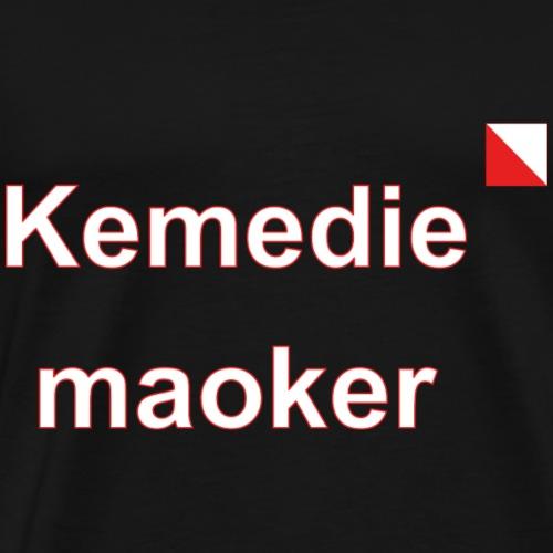 Kemediemaoker def w - Mannen Premium T-shirt