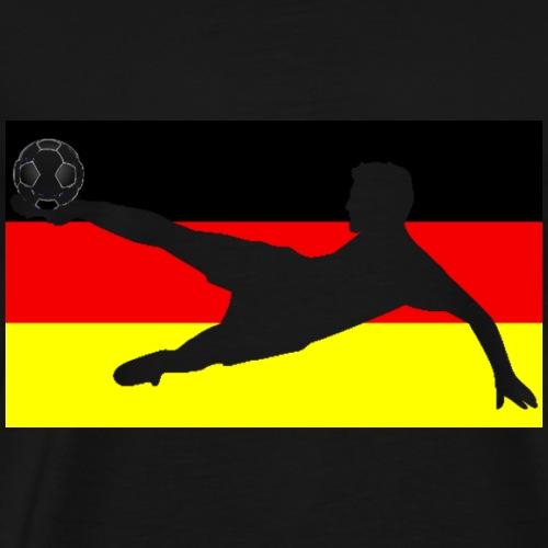 Deutschland Seitfallzieher - Männer Premium T-Shirt