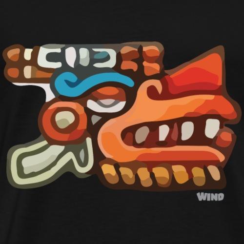 Aztec Icon Wind - Men's Premium T-Shirt