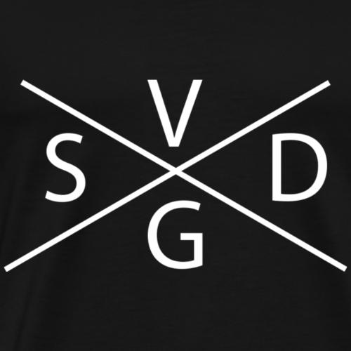 Stefanie van der Gragt - Wit - Mannen Premium T-shirt