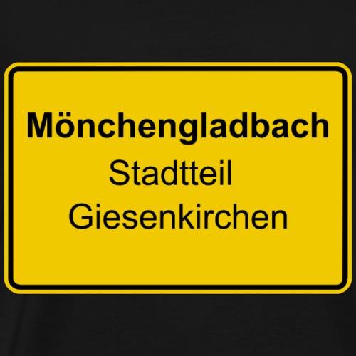 Moenchengladbach Stadtteil Giesenkirchen - Männer Premium T-Shirt