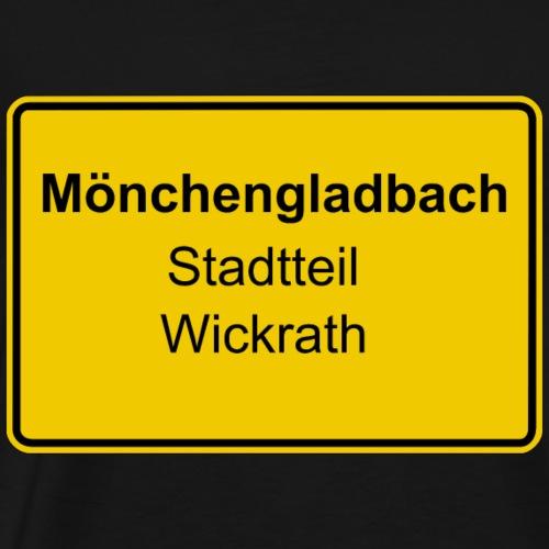 Moenchengladbach Stadtteil Wickrath - Männer Premium T-Shirt