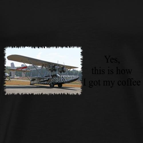 Osa-s_Ark_coffee - Mannen Premium T-shirt