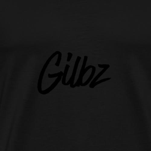 Gilbz Original White T-Shirt - Men's Premium T-Shirt