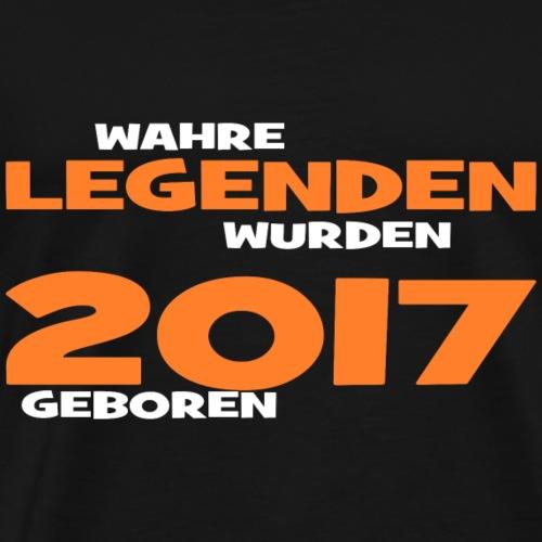 Wahre Legenden 2017 - Männer Premium T-Shirt