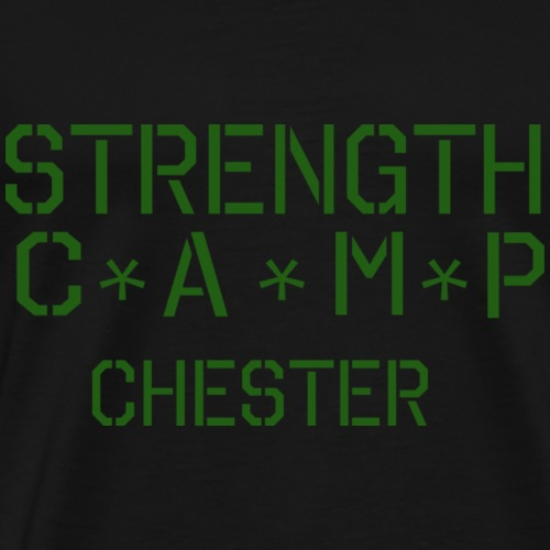 strength camp green - Men's Premium T-Shirt