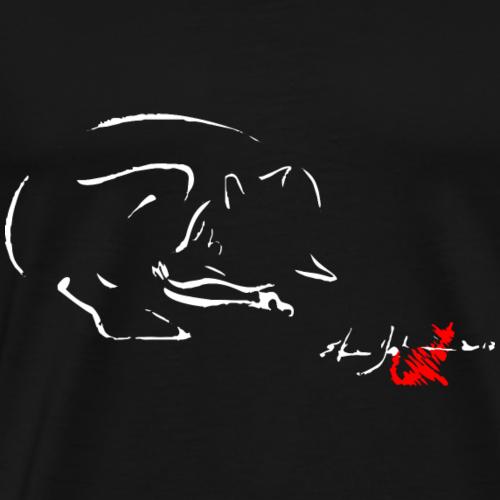 VOLPE - Maglietta Premium da uomo