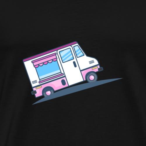 Eiswagen - Männer Premium T-Shirt