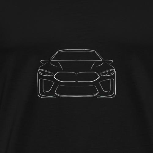 Auto M8 - Männer Premium T-Shirt