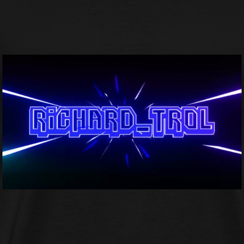 Richard_Trol Blau - Männer Premium T-Shirt