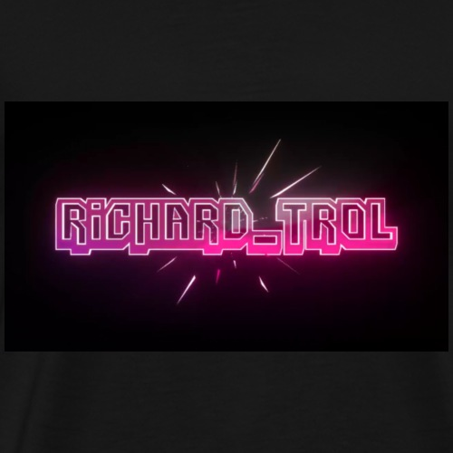 Richard_Trol Pink - Männer Premium T-Shirt