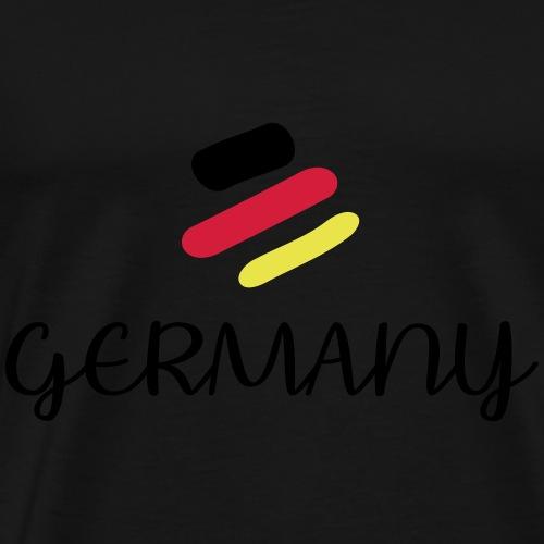 Gerrmany Weltmeisterschaft 2018 - Männer Premium T-Shirt