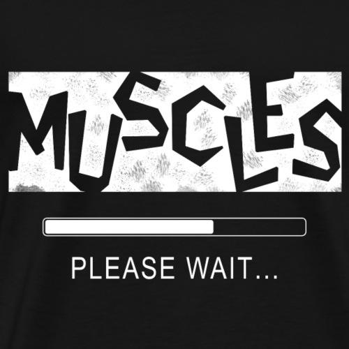 Muscles - Miesten premium t-paita