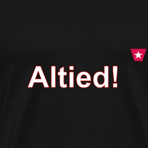 Altied ms hori def w - Mannen Premium T-shirt