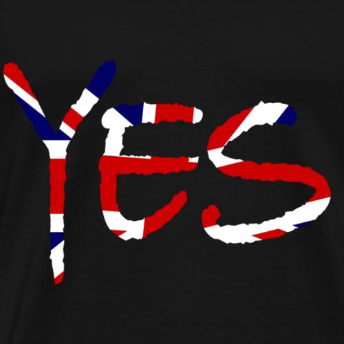 Ja auf Englisch - Männer Premium T-Shirt