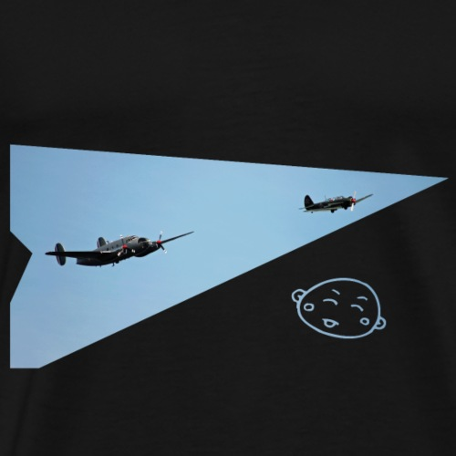 Smily_flight - Mannen Premium T-shirt