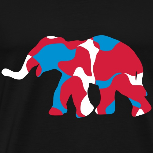 THAILAND ราชอาณาจักรไทย ELEPHANT ช้าง - CAMOUFLAGE - Männer Premium T-Shirt