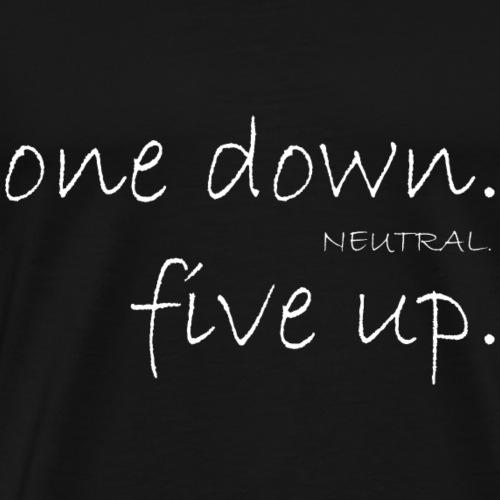 onedown neutral fiveup - Männer Premium T-Shirt