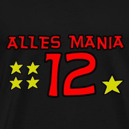 12. Mann für 1 Stern - Männer Premium T-Shirt