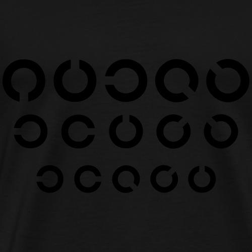 Sehtest 3r - Männer Premium T-Shirt
