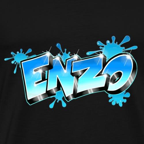 Graffiti Enzo Style - T-shirt Premium Homme