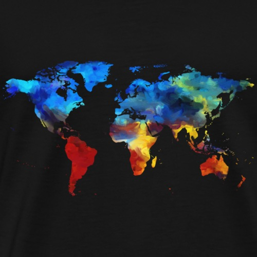 colorful earth - Männer Premium T-Shirt