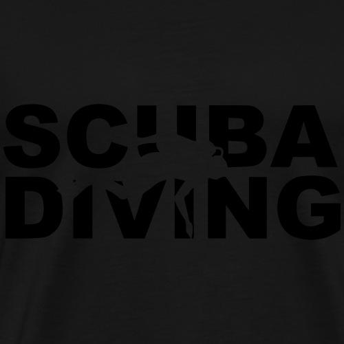 Scuba diving - Koszulka męska Premium