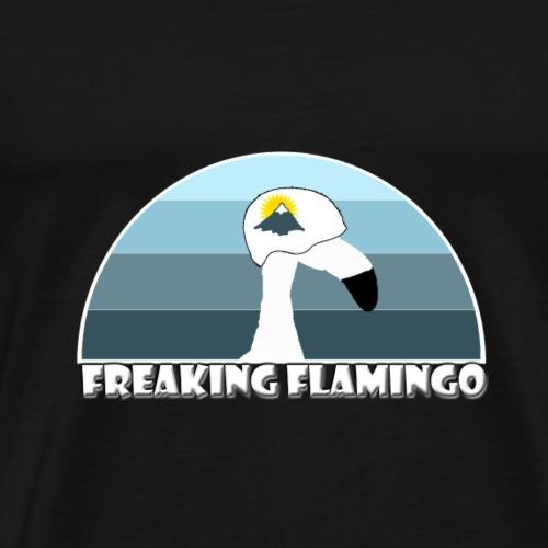 FF Mountaineer Flamingo - Männer Premium T-Shirt