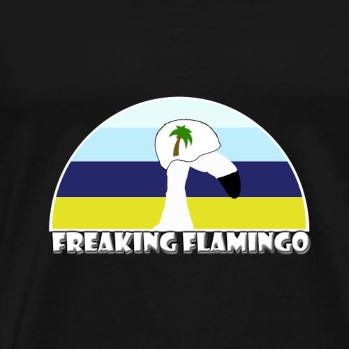 FF Beach Flamingo - Männer Premium T-Shirt