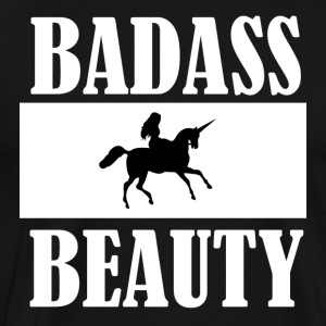 badass BEAUTY - Premium T-skjorte for menn
