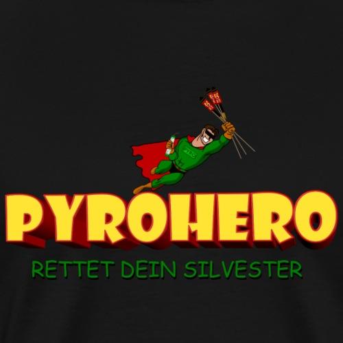 Pyro Hero Silvester - Männer Premium T-Shirt