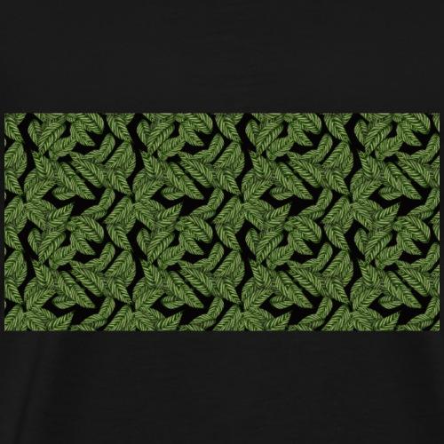 Grüne Blätter - Männer Premium T-Shirt