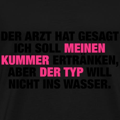 Kummer (Spruch) - Männer Premium T-Shirt