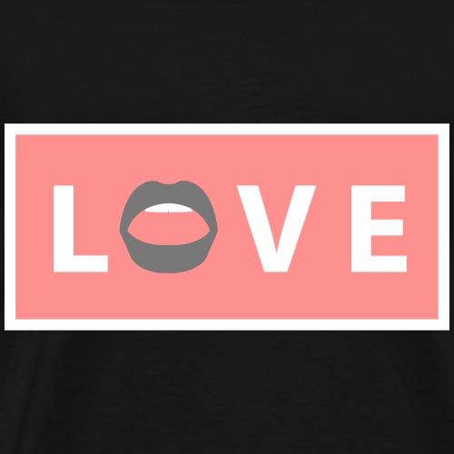 LOVE 2 - Männer Premium T-Shirt