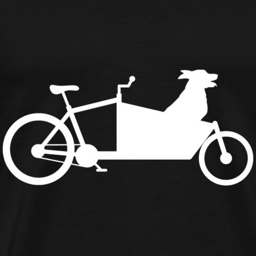 Lastenrad Hund - Männer Premium T-Shirt