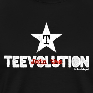 Join the Teevolution! - Mannen Premium T-shirt