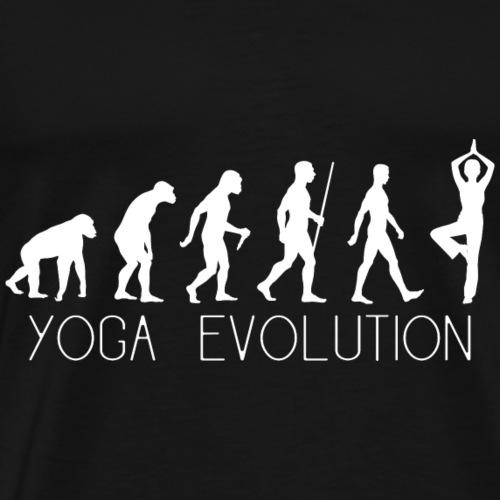 Yoga Evolution - Männer Premium T-Shirt