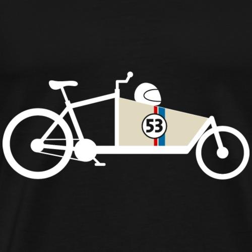 Lastenrad Rennwagen - Männer Premium T-Shirt