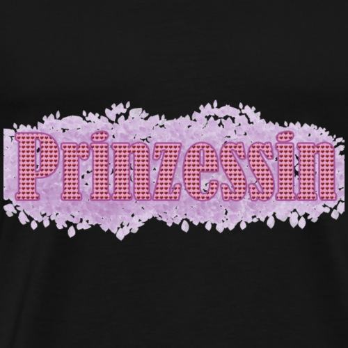 Prinzessin Liebe Herz Herzen Princess - Männer Premium T-Shirt