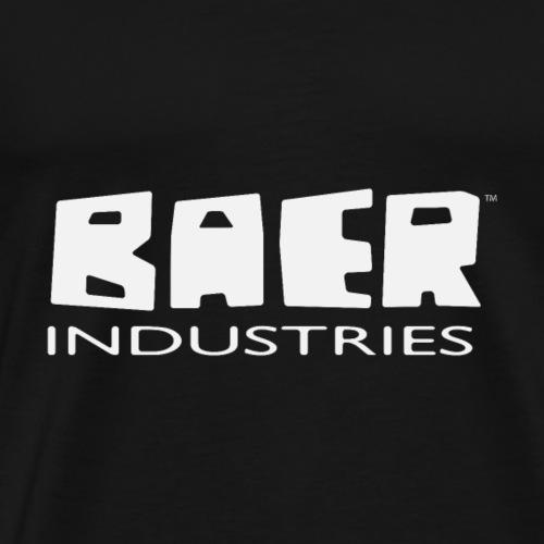 baer-industries wortmarke weiss - Männer Premium T-Shirt