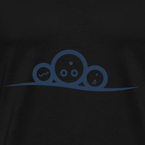 tricurve - Premium T-skjorte for menn