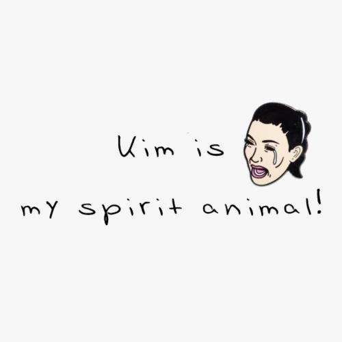 Kim spirit animal - Männer Premium T-Shirt