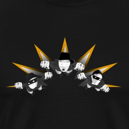 Dollar Dummie Heroes - Männer Premium T-Shirt