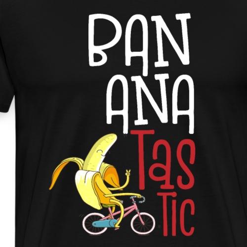 Bananatastic - Fantastische und fröhliche Banane - Männer Premium T-Shirt