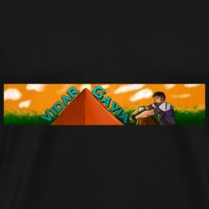 Vidargavia Banner - Men's Premium T-Shirt