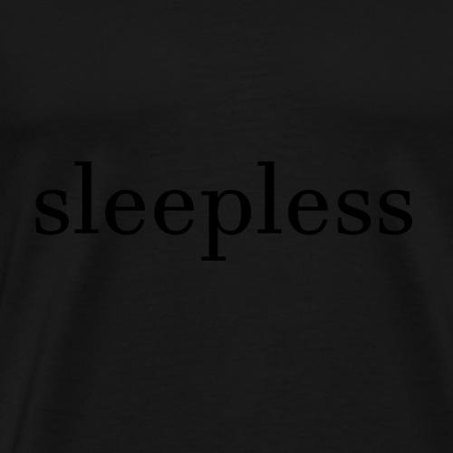 Sleepless T - Männer Premium T-Shirt