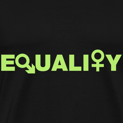 Equality - Mannen Premium T-shirt