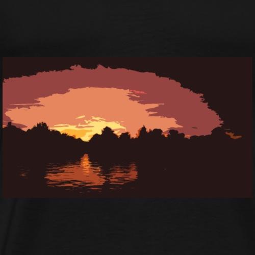 ATARDECER - Camiseta premium hombre