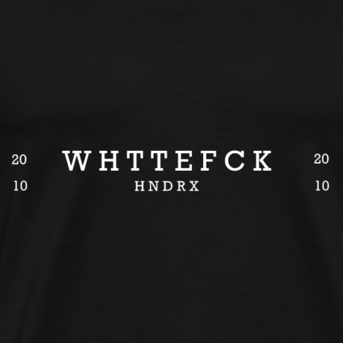 WTF white - Men's Premium T-Shirt